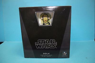 Star Wars Gentle Giant BUST figure Limited Edition OOLA RARE MISB