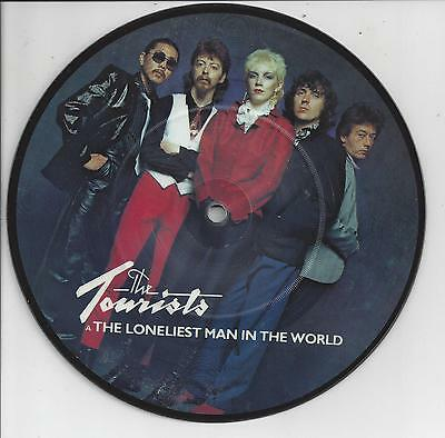 "THE TOURISTS The Loneliest Man In The World - Picture Disc 7"" Single"