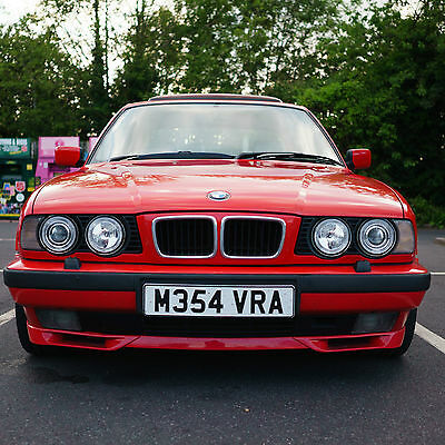 1995 BMW E34 530i V8 Manual - Red with Grey Leather - Best Sounding Car Ever
