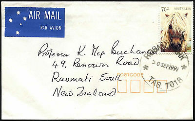 Australia 1991 Commercial Airmail Cover To New Zealand #C42170