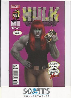 Hulk #7 New Mary Jane Variant (Bagged And Boarded)