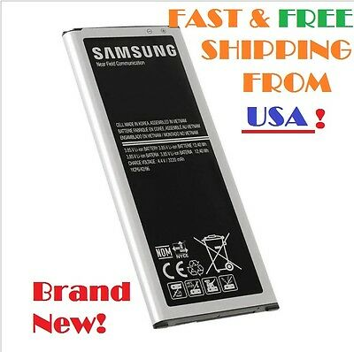 NEW Original OEM Battery For Samsung Galaxy NOTE 4 IV EB-BN910BBE 3220mAH AT&T