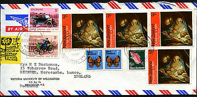 New Zealand 1972 Airmail Cover To UK #C42204