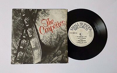 The Carpettes How About You And Me 7' Vinyl EP 1977 Single Small Wonder 3