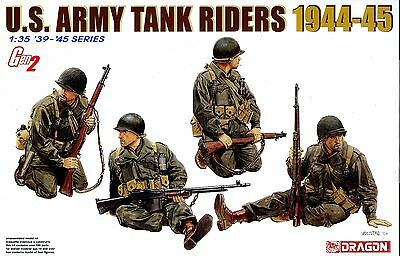 Dragon 1/35 6378 WWII US Army Tank Riders (1944-1945) GEN 2 (4 Figures)