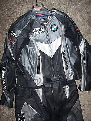Teknics NEW Motorcycle Leather 2 Piece Suit