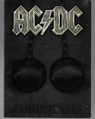 Family Jewels  DVD AC/DC, Mark Evans, Brian Johnson, Phil Rudd, Arnold Schwarzen