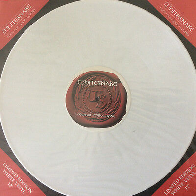 "Whitesnake - Fool For Your Loving - 12"" White Vinyl - Immaculate Condition  1989"