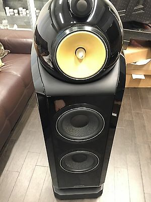 B&W Bowers-Wilkins 802 D2 Diamond  black piano coppia di diffusori pari al Nuovo