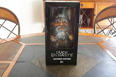 Duck Dynasty Uncle Si Robertson Garden Gnome ~ANY OCCASSION GIFT*NIB* ITS COOL!!