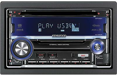 Kenwood DPX501BT In Dash Double Din CD Receiver with Built in Bluetooth NEW