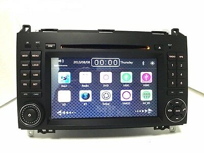 Autoradio GPS-DVD-BT-USB Mercedes Benz Classe A-B-VIANO-VITO- VW CRAFTER+ CAMERA