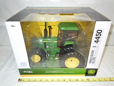 John Deere 4450 With MFWD & Duals    #1 Precision Elite Series    By Ertl