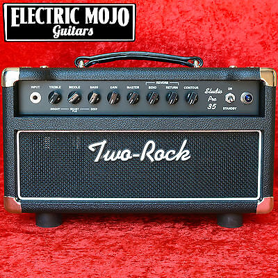 Two Rock Studio Pro 35 Head Black Guitar Amplifier