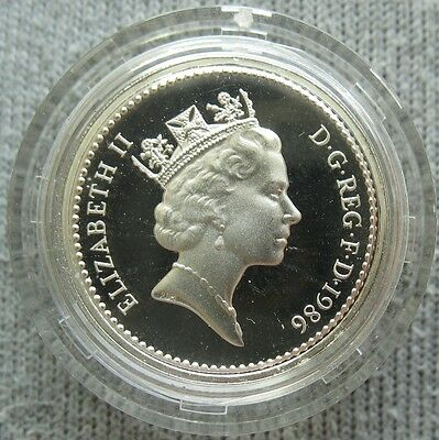 Great Britain 1986 Silver Proof Pound