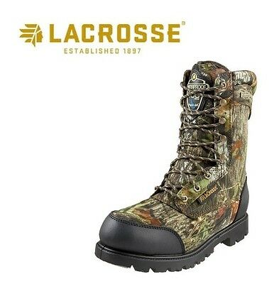 Lacrosse Footwear Hunting Boot Waterproof Camo Camouflage Fishing Camping Hiking