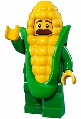 Lego Minifigure Series 17 - Corn Cob Guy 100% New(Factory Sealed)