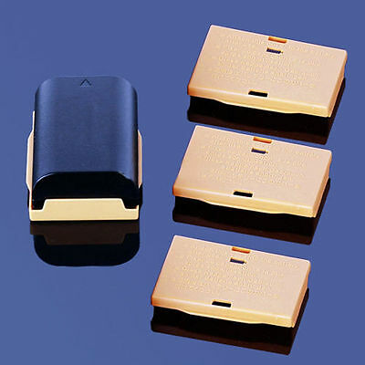 4 X Plastic Protective Cover Case Holder Boxes For Canon LP-E6 Battery EOS 5D BT