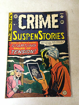 Crime Suspenstories #1 Ec, 1950, Wood, Craig, Super Key, Snapshot Of Death