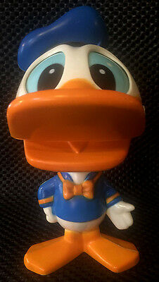 """Vintage Talking Donald Duck Pull String Toy 7"""" Works Good Condition"""