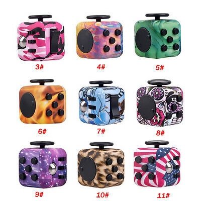 Camo Camouflage Fidget Hand Spinner Puzzle Cube Finger Stress Relief Adults Toy