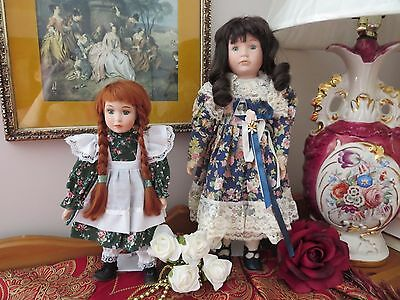 Porcelain Dolls The Promenade Collection Elizabeth - A and Anne of Green Gables