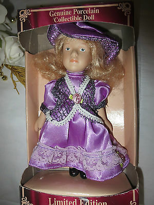 Genuine Porcelain Collectible Doll Limited Edition