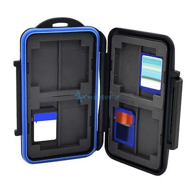 Memory Card Case Holder Wallet for 8x SD SDHC Cards MC-SD8 Waterproof Anti-shock