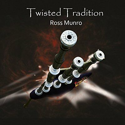 Ross Monro - Twisted Tradition - Ross Monro CD 72VG The Cheap Fast Free Post The