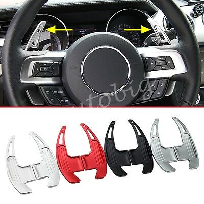Steering Wheel Gear Shift For Ford Mustang 2015+ Paddle Extension Accessories