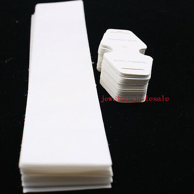 200set Card Tag with OPP Plastic Jewelry Bag fit Pendant Necklace Packing sets