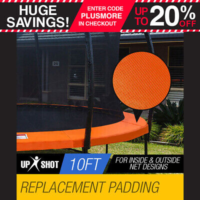 NEW UP-SHOT 10ft Replacement Trampoline Padding - Pads Pad Outdoor Safety Round