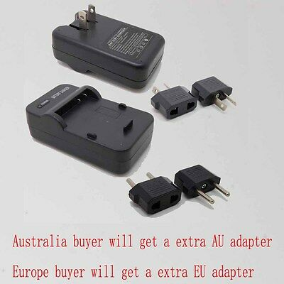 Battery Charger For Panasonic DMW-BCF10E CGA-S009 Lumix DMC-FT1 FT2 FT2A FT2D