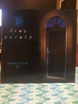 1987 DEEP PURPLE House Of Blue Light World Tour Book Concert Program Rare