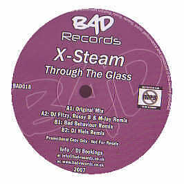 X-Steam - Through The Glass - Bad Records - 2007 #219682