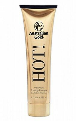 Australian Gold HOT! Maximum Tanning Lotion enriched with Vitamin A 250ml/250 ml