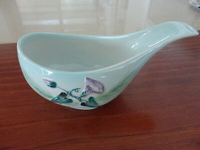 Vintage Carlton Ware Gravy Boat (Morning Glory Design)