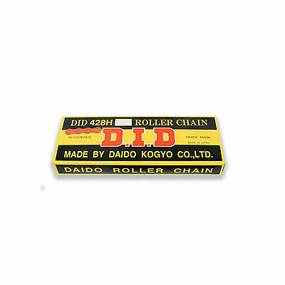DID Heavy Duty Motorcycle Drive Chain 428H x 116 Links