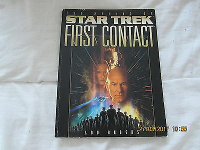 Star Trek-  First  Contact  Annual  Good For  Age 1996