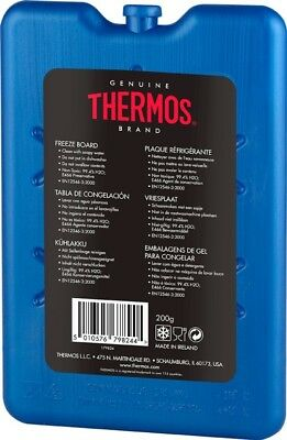 Thermos Freeze Board Ice Pack Block For Cool Bag Chill Box Cooler - All sizes