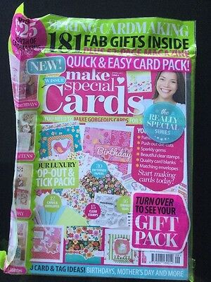 Make Special Cards magazine Issue 6 with Spring Cardmaking Kits 181 gifts