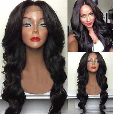 Body Wave Synthetic L Part Lace Front Wig Long Wigs For Black Women