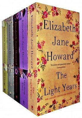 Cazalet Chronicle Collection Elizabeth Jane Howard 5 Books Set Pack Light Years