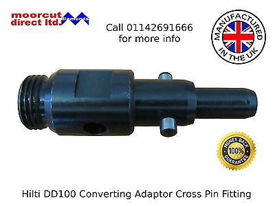 Converting Adaptor for Hilti DD100 Cross Pin Fitting for Standard Dry Core Bits