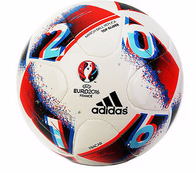 Adidas UEFA Euro 2016 Football Match Ball Replica Top Glider Size 5 R162