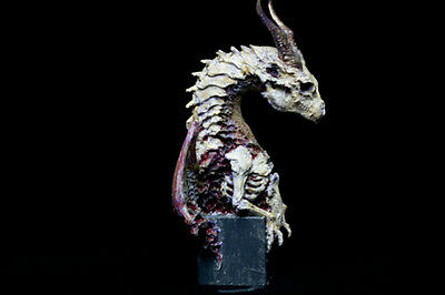Dragon Bone (youth) Bust Figures Model Resin Kit Unpainted Assembly Hobby Toys
