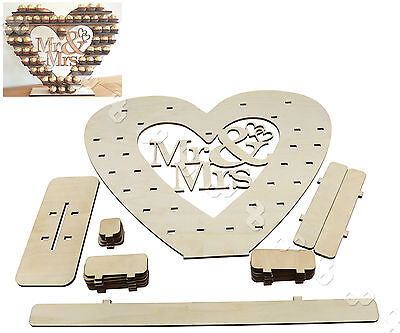 Mr & Mrs Ferrero Rocher Heart Centrepiece Wedding Decor Display Tree Stand Gift