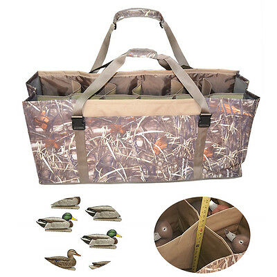 Protect Duck Decoys Tactical Waterfowl Gear 12 Slot Duck Decoy Bag Hunting
