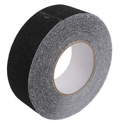 Roll of Anti Slip Tape Stickers for Stairs Decking Strips 5cm x 18m V2R6