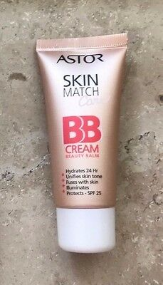 Astor Skin Match Care BB Cream Beauty Balm 100 Ivory